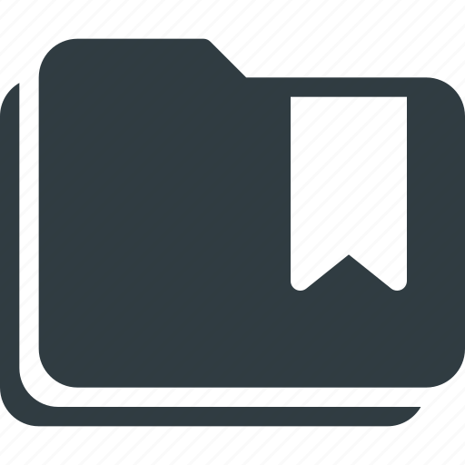 bookmark, favorite, folders, tag icon
