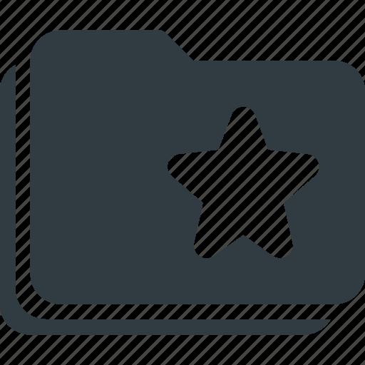 bookmark, favorite, folders, star, tag icon