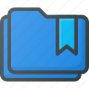 bookmark, favorite, folders, tag icon