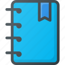 bookmark, favorite, notes, tag icon