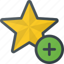 add, bookmark, favorite, star, tag icon