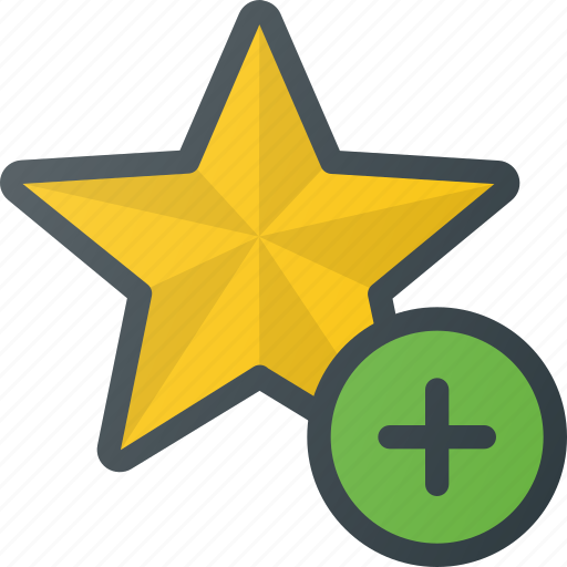 add, bookmark, favorite, star, tag icon