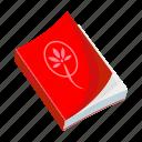 book, textbook, literature, education icon
