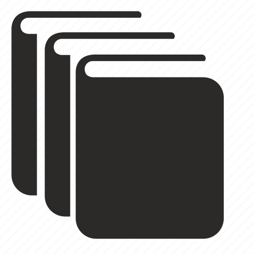books, chapter, issue, library icon