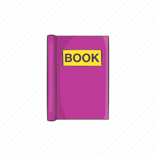 book, cartoon, education, learning, literature, read, sign icon