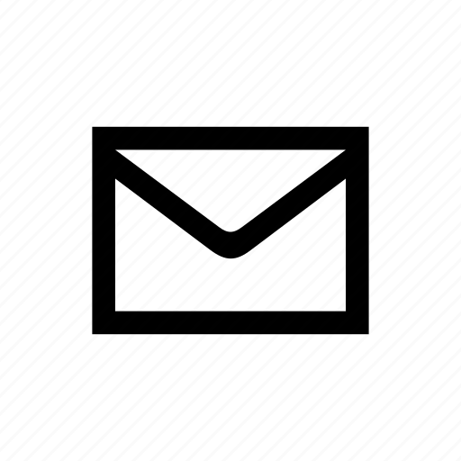 email, envelope, mail, organize, unread icon