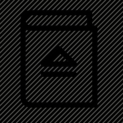 book, ebook, eject, remove icon