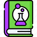 book, education, laboratory, learning, research, school, science icon