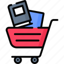 business, cart, online, shop, shopping, store icon