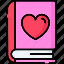 love, novel, romance, valentine, heart, marriage, romantic icon