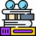 books, documents, library, files