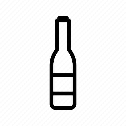 bootle, wine icon