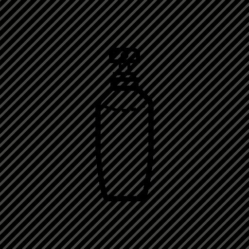 bathroom, bottle, cleaning, pump, shampoo, soap, utility icon