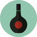 alcohol, alcoholic drinks, beverage, bottle, liquor, unicum icon