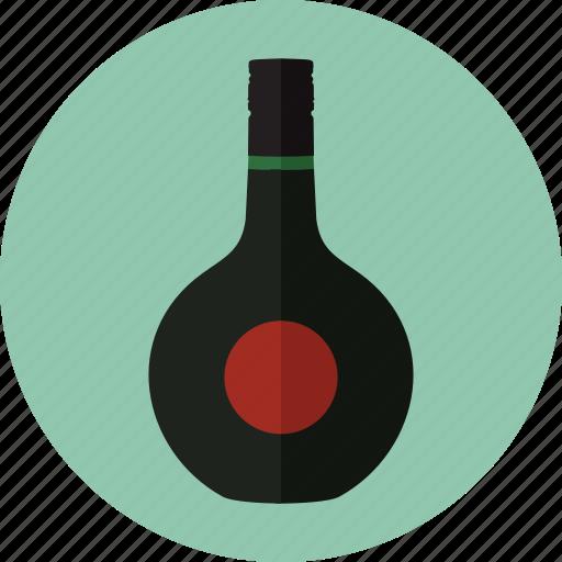 alcohol, alcoholic drinks, beverage, bottle, liquor, unicum icon