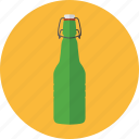 beer bottle, bottle, drink, green bottle, grolsch beer icon