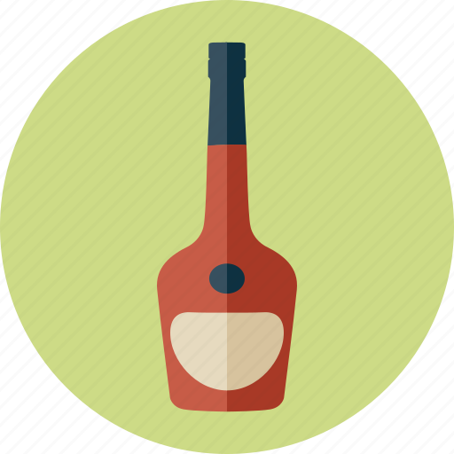 alcohol, alcoholic drink, beverage, bottle, cognac, courvoisier, drinks icon