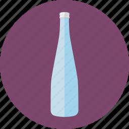 bottle, drink, evian, evian water, water, water bottle icon