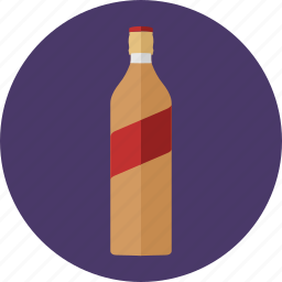 alcoholic drinks, beverages, bottle, brandy bottle, drinks, johnnie walker, whisky icon