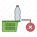 bottle, place, position, wrong icon