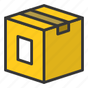box, container, logistics, package, parcel, shipping icon