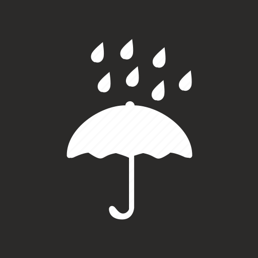 Box, drops, package, product, safety, umbrella, water icon - Download on Iconfinder