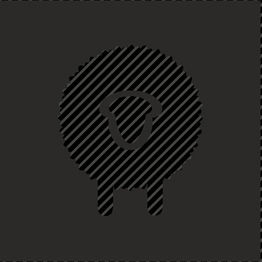 marking, merino, product, wool icon