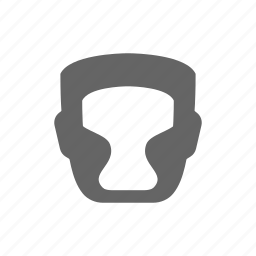 boxing, helmet icon