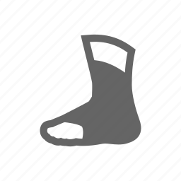 foot, protection, protector icon