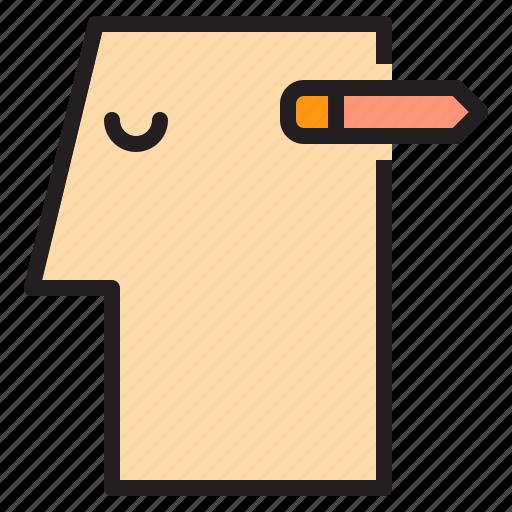 brain, creative, human, idea, mind, think icon