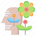 brain, healthcare, hinking, medical, psychology, relaxing icon
