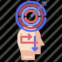 brain, creative, process, strategy, temper icon