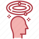 brain, creative, imagination, process, temper icon