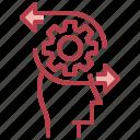 brain, creative, logical, process, temper