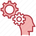 brain, creative, process, temper, thinking