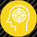 focus, head, mind, n head, target, thinking