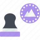 achievement, award, communication, contact, mail, send, stamp icon