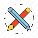 brush, design, pencil icon