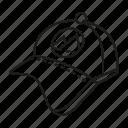 advertising, brand, brand identity, branding, cap, design, print icon