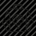 advertising, brand identity, branding, shirt, sweater, turtleneck, wear icon
