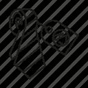 advertising, brand, brand identity, branding, necktie, tag, tie icon