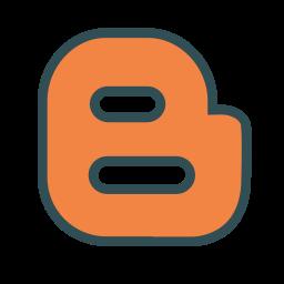 b, blog, blogger, brand, media, social icon
