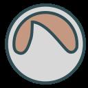 circle, coffe, figure, round, shape icon