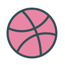 basketball, brand, dribbble, game, sport icon