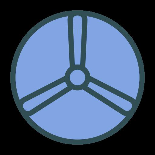 brand, disk, fan, shape icon