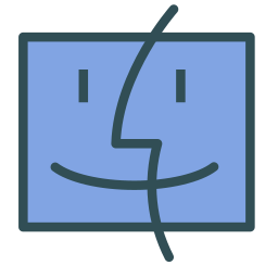 avatar, face, finder, mac, os icon
