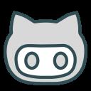 avatar, cat, face, figure, ninja icon