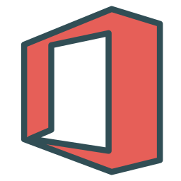 brand, letter, o, single, square icon