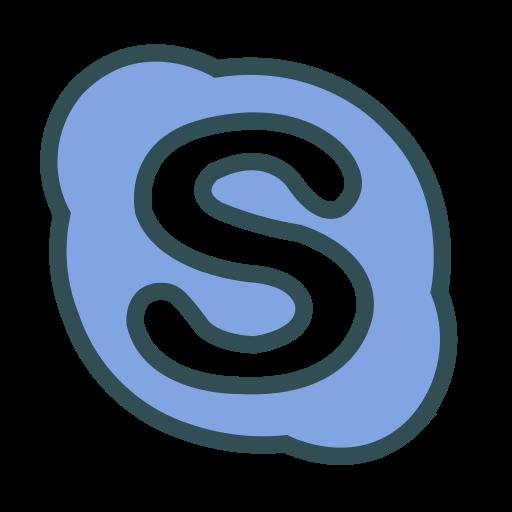 chat, media, messenger, skype, social icon