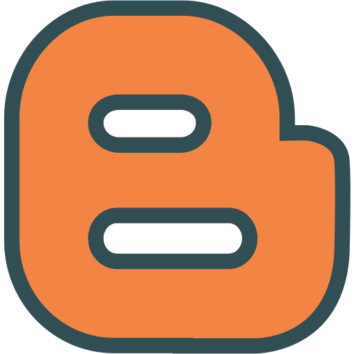 blogger, brand, logo, network, social icon